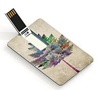 64GB Tree Design Pattern Card USB Flash Drive