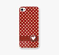 dot padrão pc de volta caso para iPhone5 / 5s