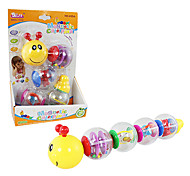 Early Development Plastic Toy Magnetic Baby Caterpillar Toys