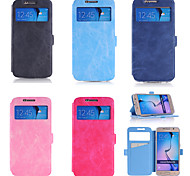 Card Purse Holster Crazy Ma Wen Contracted Tpu Mobilephone Holster Stents for Samsung S6 A Variety Of Colors