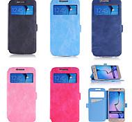 tarjeta monedero funda ma loco wen contrajo tpu stents funda móvil para Samsung s6 una variedad de colores