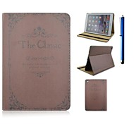 9.7 Inch The Holy Bible Pattern with Stand Case and Pen for iPad Air 2/iPad 6