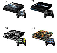 Prints and Patterns Vinyl Skin Designer Console and Free Controller Sticker Decal for PS4 Gaming Sticker Bomb