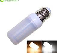 E27 12W 56x5630SMD LED Warm White/Cool White  1900LM 3500K 6000K Decorative LED Corn Bulbs  AC110-240V