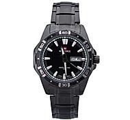neue Marke Herrenuhren Japan Bewegung Quarz hochwertigem Edelstahl mit wasserdichten Uhren 30m-LX003