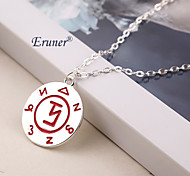 Euner® 2015 The Mortal Instruments City of Bones Angelic Power Rune Necklace Pendant Chain