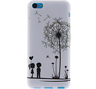 Dandelion and the Design of Lovers TPU Soft Cover for iPhone 5C
