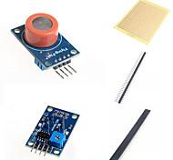 MQ-7 détecteur de gaz détecte module d'alarme de monoxyde de carbone et accessoires pour Arduino