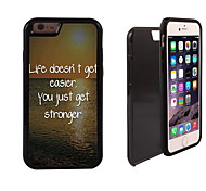 Get Stronger Design 2 in 1 Hybrid Armor Full-Body Dual Layer Shock-Protector Slim Case for iPhone 6 Plus