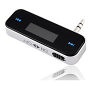 3.5mm In-Car Hands Free Talk FM Transmitter Modulator for iPhone/Sumsung/HTC Universal Delivery with Random Color