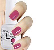 LIBEINE 1pc Soak Off 15 ML UV Gel Nail Polish Color Gel Polish 056# Rambling Rose