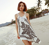 Women's Stylish Sun Prevention Beach Cover Up Bikini Dress