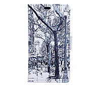 Trees Pattern Full Body Case for Sony Xperia E4G