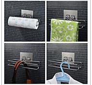 reutilizable estante tejido adhesivo y torre de barra mágica para baño / cocina