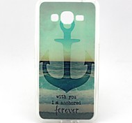 Sea Ship Anchor Pattern Soft TPU Case for Galaxy Grand Prime G530 G530H