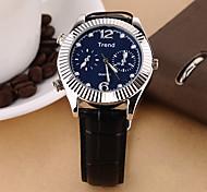 Men's Dress Watch Fashion Watch  High-Grade Leather Strip of The Quartz Watch