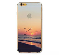 Sunrise at sea Pattern acrylic Hard Case for iPhone 6