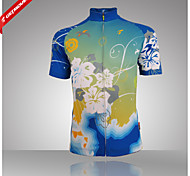Jersey Fitness/Ciclismo/Trilha - Mulheres - Respirável/Bolsa de Chaleira Embutida/Design Anatômico/Materiais Leves/Bolso TraseiroManga