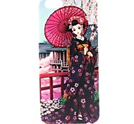 Cherry Beauty Pattern Hard Case Cove for iPhone 6