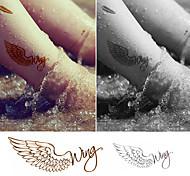Tatuaggi adesivi - Altro Bambino/Da donna/Girl/Da uomo/Adulto/Boy/Teen - 1 - Modello - di Carta - 6*5 - Oro -Non Toxic/Fantasia/Fascia