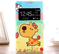 Mobiltelefonkasten Schutz mit Zeichnung Cartoon Schale für HTC butterfly2