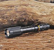 Torce LED / Torce LED 1 Modo 2000 Lumens 18650 Cree XM-L T6 Batteria - Campeggio/Escursionismo/Speleologia / Viaggi Altro