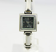 Women's Analog Alloy Case Square Dial Alloy Band Japan Quartz Watch Women Jewelry Watch Gift Watch(Assorted Colors)