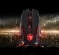 neue Sades neuesten 3500dpi optischer führte 6 Tasten Gaming-Maus für Pro-Gamer zina