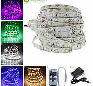 5M 3528SMD 300LED Strip Light + 11Key Remote Controller  + Power Supply AC110-240V