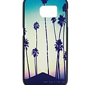 YMX-Evening coconut tree Pattern Design Pattern Protective Hard Case for Samsung GALAXY S6 G9200