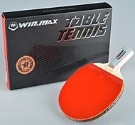 winmax® 1 estrella sola mesa de tenis / raqueta de mango corto de ping-pong con una caja de embalaje de color