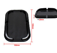 Multifunction PVC Car Mat Nobile Phone Universal Car Glove Box