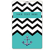 Personalized USB Flash Drive Sea Wave and Anchor Design 64GB Card USB Flash Drive