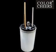 1PCS White Nail Art Brush Cleaning Pot