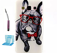 Small Dog Pattern TPU  Soft Case for Samsung Galaxy A5