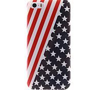 a bandeira projeto TPU soft caso americano para iPhone 5 / 5s