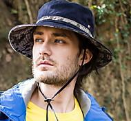 Hombre Sombrero Playero Trabajo/Casual - Verano - Mezcla de Algodón