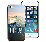 nada vem hard case de alumínio projeto fácil para iPhone 5 / 5s