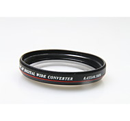 Zomei Slim 40.5mm 0.45X Wide Angle Lens Without Vignetting Wide Angle Lens for Canon Nikon