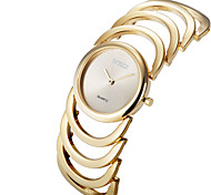3 Colour Luxury Rose Gold Silver Smart Women Lady Dressed Wrist Quartz Bracelet Bangle Watch Skeleton Band