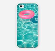 Baby-Schwimmenringmuster pc phone case Schutzhülle für iPhone 6 und Fall