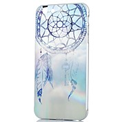 KARZEA™ Compass Feather Pattern Back Hard PC Case Cover With Aluminum Metal Bumper Frame for iPhone6
