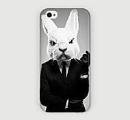 Kaninchenkopf Anzug muster pc phone case Schutzhülle für iPhone 6 Fall