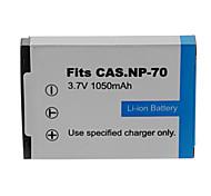 1950mAh bateria da câmera para CASIO NP-70