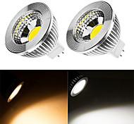 9W LED Spot Lampen MR16 1 COB 200-350 lm Warmes Weiß / Kühles Weiß DC 12 V 1 Stück