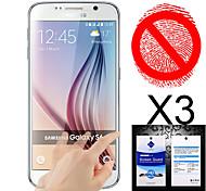 Mattschirm-Schutz für Samsung-Galaxie s6 (3 Stück)
