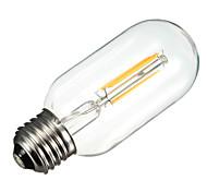 4W T45 400LM 2700K Warm White E27 filament lamp (AC85V-265V)