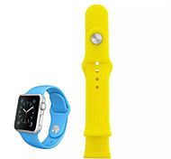 Colorful Silicone Watch Band for iWatch 38 MM