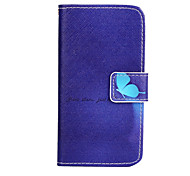 Butterfly Pattern PU Leather Case with Stand for Samsung Galaxy A3