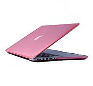 mayor venta de cristal caja de cuerpo súper delgado transparente duro completo para MacBook Pro de 15,4 pulgadas (colores surtidos)